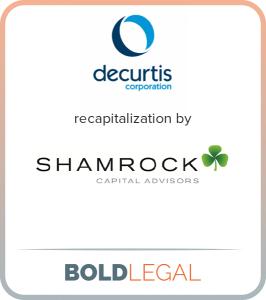 Decurtis recapitalization by Shamrock Capital Advisors