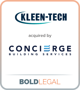 Kleen-Tech acquired by Concierge Building Services