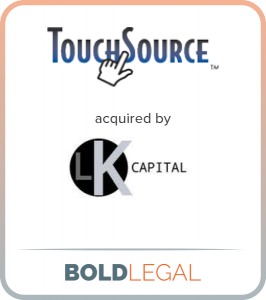 TouchSource acquired by LK Capital
