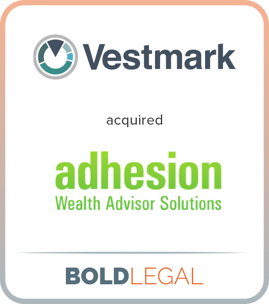 Vestmark acquired Adhesion Wealth Advisor Solutions