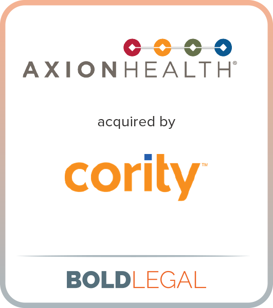 Axion Health acquired by Cority